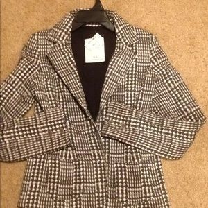 Women new tags Aeropostale blazer jacket m med